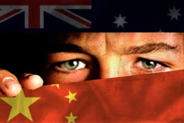 China and Australia cold war