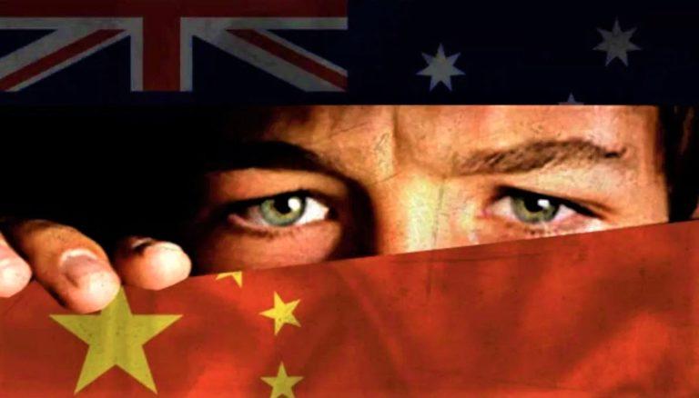 China and Australia cold war